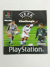 Manual PLAYSTATION 1 PS1 French Version UEFA Challenge and Tracking