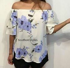 Evening, Occasion Machine Washable Floral Regular Tops & Blouses for Women