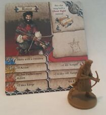ROCCO - William Tell - Zombicide Green Horde - Mini & card - COMBINE SHIPPING