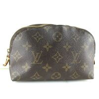LOUIS VUITTON POCHETTE COSMETIC Pouch Purse Monogram M47515 JUNK