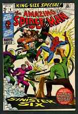 """The Amazing Spiderman Annual #6 """"The Sinister Six"""" (Marvel, 1963) Fine/VF"""