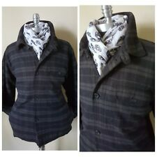Nwt Nautica Jeans Winter Flannel Shirt Parka Coat Jacket Mens 44 46 Xl 56 Eu 7Uk