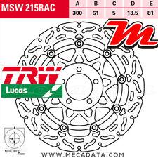 Disque de frein Avant TRW Lucas MSW 215 RAC Kawasaki GPZ 1100 (ZXT10E) 1996