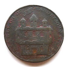 More details for forfar angusshire condor half penny token 1797, d & h 23, avf surface issues.
