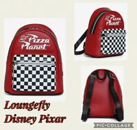 LoungeFly Disney Pixar Toy Story Pizza Planet Mini Back Pack New