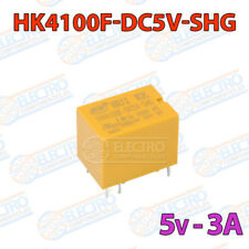 MINI Rele 5v 3A HK4100F-DC12-SHG PCB soldar superficie power relay relé