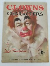 Clowns And Characters #62 Art Instruction Book By Leon Franks