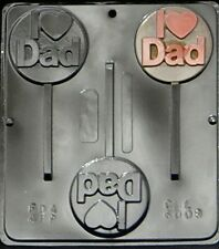 """I """"Heart"""" Dad  Chocolate Candy Mold  6008 NEW"""