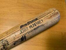 Chicago Cubs Jerry Mumphrey Game Used Cracked Bat