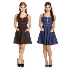 Hell Bunny Rockabilly Sleeveless Dresses for Women