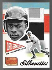 2013 America's Pastime Silhouettes Red #CU Curtis Granderson 3 Clr Patch #03/10