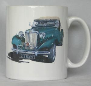 MG TD Midget - Original Art - Personalised Mug / Cup - MG Owners