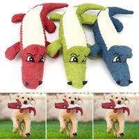 Funny Pet Puppy Chew Play Squeaker Squeaky Cute Plush Sound For Dogs Toys Gifts