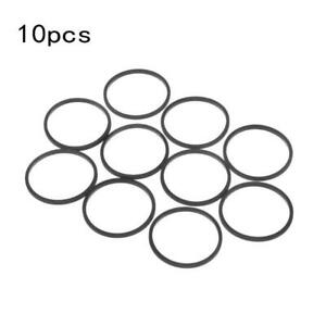 10PCS DVD Disk Rubber Drive Belts Replacement for Stuck Disc Tray Accessories