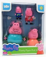 Character Peppa Pig Family Figure Pack with George Daddy and Mummy Toy