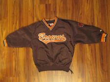 Brown Puma Cleveland Browns Pullover Jacket - Youth Small 8 - Sewn