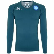Kappa Skin T-Shirts & Top Uomo KOMBAT NIRICH EURO 5 NAPOLI Calcio sport CNA