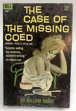 CASE OF THE MISSING COED William Hardy DELL Mystery gga