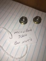 Mcculloch 3200 Chainsaw bar Nuts  Fits Many Models Used