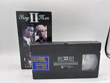 Boyz II 2 Men Then II Now VHS (Used) Tape Music