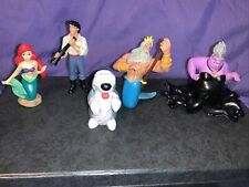 The Little Mermaid Disney Figurines Lot Of 5