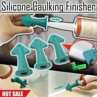 UK Silicone Caulking Finisher Tool Nozzle Spatulas Filler Spreader Tool Set
