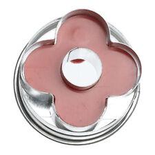 Kaiser Bakeware Linzer Clover  / Flower Cookie Cutter, Tinned Steel