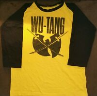 Wu-Tang Clan Size ( L ) Raglan Shirt