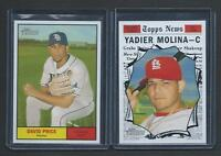 2010 Topps Heritage SHORT PRINT *** YOU PICK From LOT  $3.25 /Card  SP   MINT