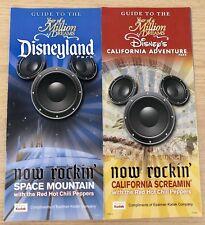 Disneyland Resort 2007 Park Guide Maps