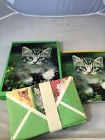 Cuddly Kittens Stationery Vintage Note Paper Matching Envelopes