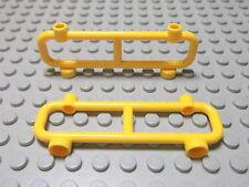 Lego 2 Zäune Geländer 1x8x2 gelb  2486 Set 7734 4207 7208 7905