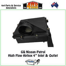 "BMR High Flow Airbox fit GQ Y60 Nissan Patrol 4"" InletOutlet Performance Airflow"