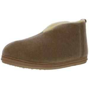 Slippers International Mens Dorm Tan Bootie Slippers Shoes 10 Wide (E) BHFO 2092