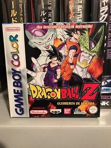 Dragon Ball Z Guerreros de Leyenda Game Boy Color Pal España NUEVO