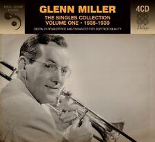 GLENN MILLER - SINGLES COLLECTION VOL.1 ÜBER 90 TRACKS VON 1935-1939 4 CD NEW!