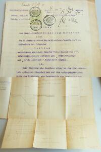 Railway Hildesheim-Peine 1910: Contract Underpass Stedum, Brickworks Riepling