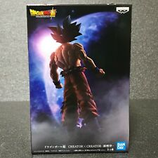 Dragon Ball Son Goku Ultra Instinct Sign figure Bandai Japan Creator x Creator