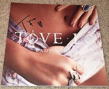 TOVE LO SIGNED AUTOGRAPH LADY WOOD VINYL ALBUM RECORD w/EXACT PROOF