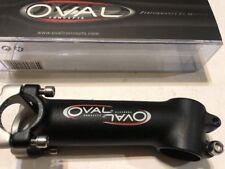 Oval concepts stem Black -Silver 120/73 deg 28.6 - 26.0 Threadless road