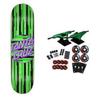 "Santa Cruz Skateboard Complete Strip Stripe Dot Team 8.125"" x 31.7"""