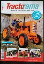 ►TRACTORAMA N°17; Labourier LD15/ Allgaier A22/ Merlin 531/ Vendeuvre