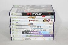 Xbox 360 Kinect Spiele Bundle x9-Winter Stars, Abenteuer, UFC Trainer, Sport