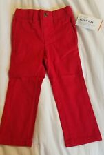 New Toddler Boys Old Navy Red Ultimate Skinny Built-In Flex Skinny Pants Size 2t