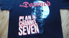 THE DAMNED - Plan 9,Channel 7 T-Shirt Size L.New.Punk,Rock,Goth,Horror,Sci-Fi