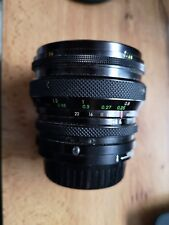 Sigma 'Multi Filtermatic' 24mm f2.8 Prime Lens With Konica mount