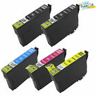 5 Pack T220XL Ink For Epson XP320 XP420 XP424 WorkForce WF2630 WF2650 WF2660