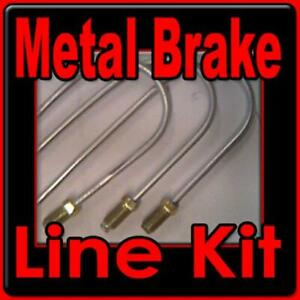Brake line kit Ford Mercury 1960 1961 1962 1963 1964 -replace rusted lines!!!