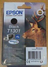 Genuine EPSON T1301 XL negro Cartucho sellado al vacío Tinta Original De Alta Cap 'Stag