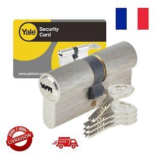 Yale serrures Shortback Plaque Poignée PVCu Finition Chrome 92mm//122mm YALPYH 2 llpc